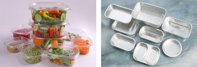 Пластиковая и алюминиевая упаковка