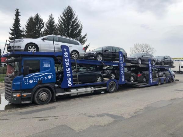 Черговий автовоз з Європи