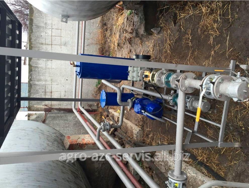 Автоматизована насосна станція зливу