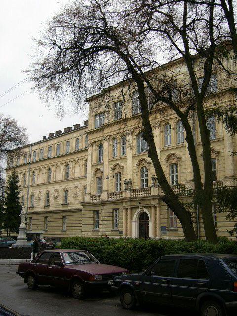 Колегія піарів (Обласна клінічна лікарня)