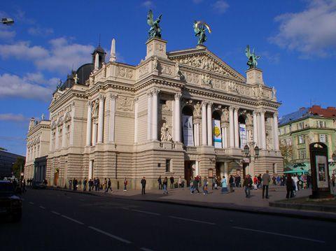 Театр опери і балету ім. І. Франка