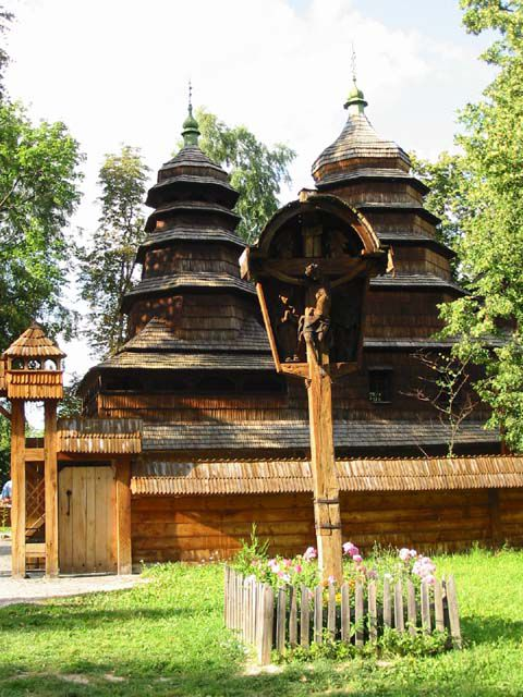 Николаевская Церковь (из с. Кривка)