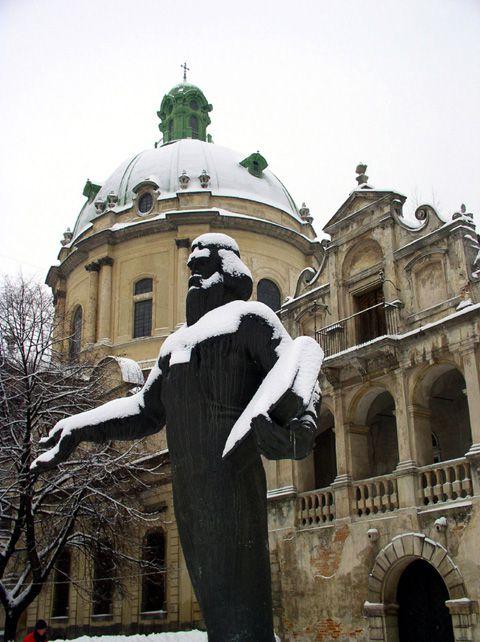 Памятник Ивану Федорову