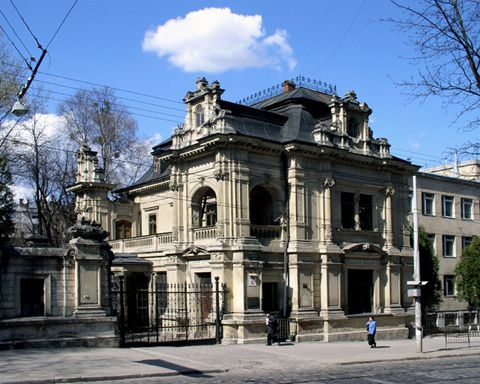 Дворец с воротами (Сапегив)