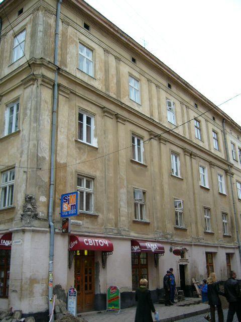 Житловий будинок на вул. Краківська, 1