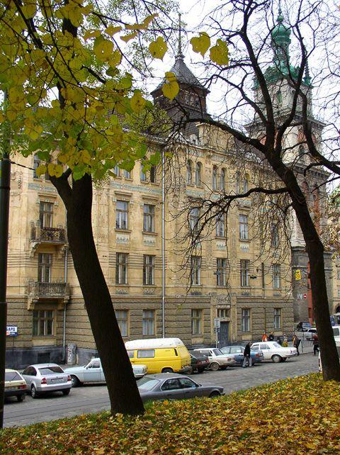 Будинок страхового товариства «Дністер»