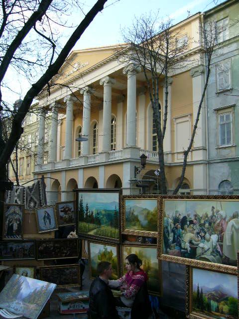 Городской театр (Украинский драматический театр им. М. Заньковецькой)