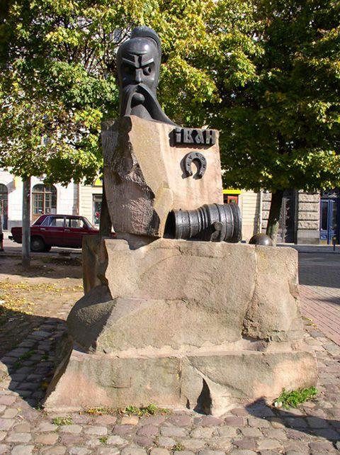 Памятник Ивану Пидкове
