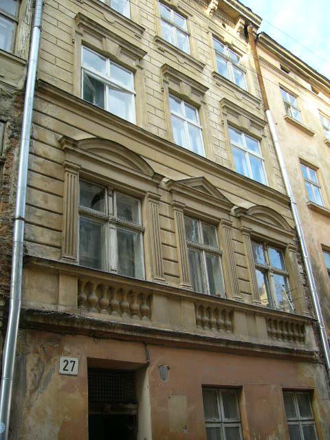 Житловий будинок на вул. Староєврейська, 27